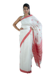 Gamusa Design Bodo Miri Cotton Saree