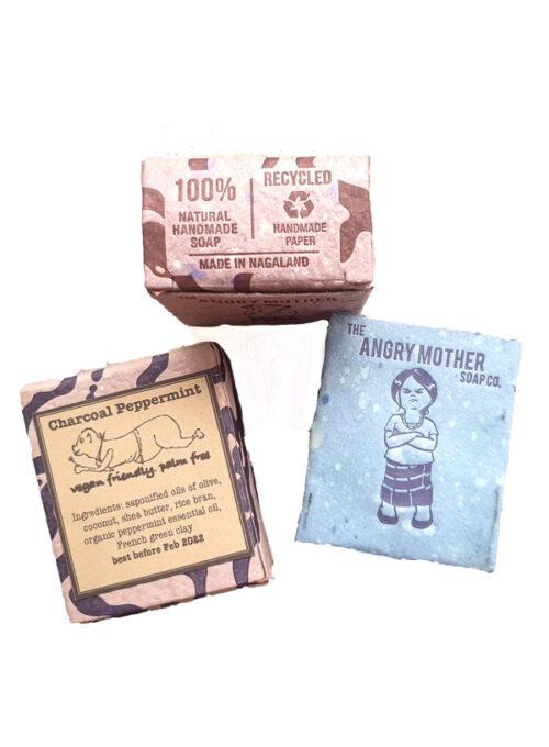 Charcoal Peppermint Soap